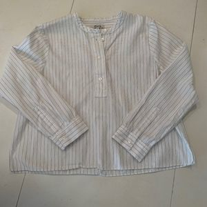Madewell top cotton S Small